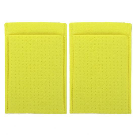 Schwammtaschen mit Elektroden für den Einsatz von SweatStop® Iontophorese DE20 gegen Hand- und Fußschweiß.