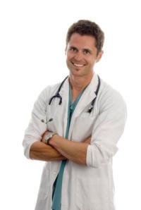 Diagnose durch Hautarzt